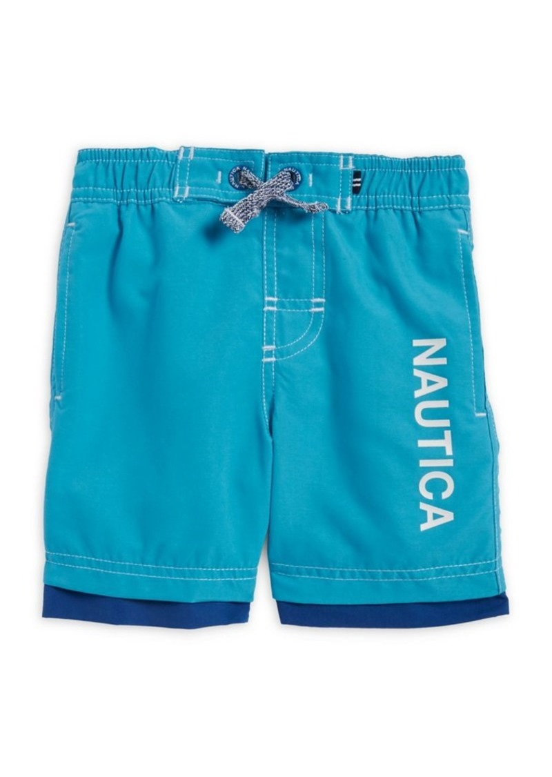 bf604c28cf Nautica Nautica Boys' Logo-Print Swim Shorts | Swimwear