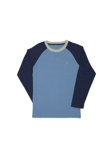 Nautica Boys' Long Sleeve Raglan T-Shirt  5/6