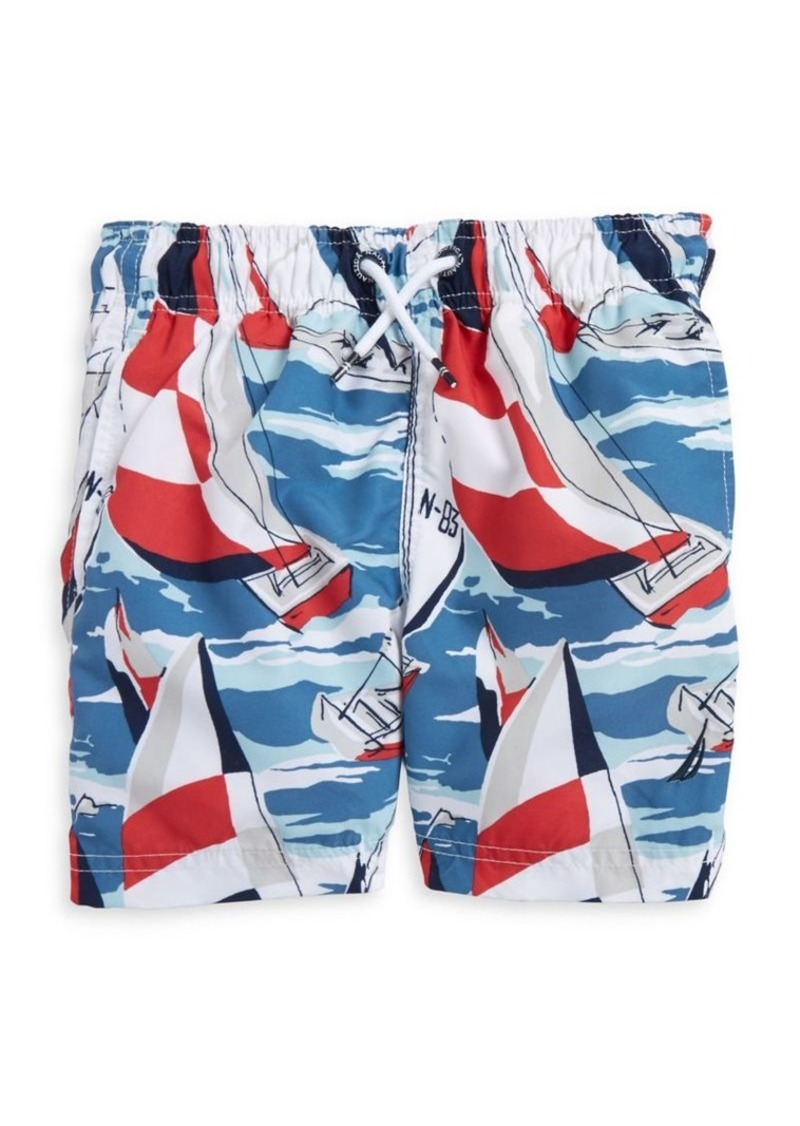 2437701818 On Sale today! Nautica Nautica Little Boy's Printed Jetter Swim Trunks