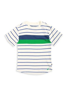 Nautica Boy's Robbie Striped Cotton Tee
