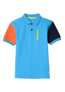 Nautica Boys' Short Sleeve Heritage Polo Shirt