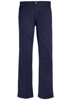 Nautica Twill School Uniform Pants, Big Boys