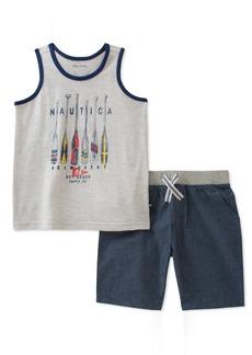 Nautica Boys' Tank with Shorts