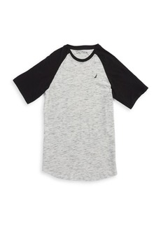 Nautica Boy's Tide Colorblock Tee