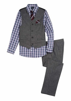 Nautica Boys' Toddler 4-Piece Formal Dresswear Vest Set