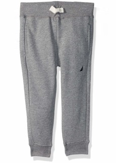 Nautica Boys' Toddler French Terry Jogger Pant