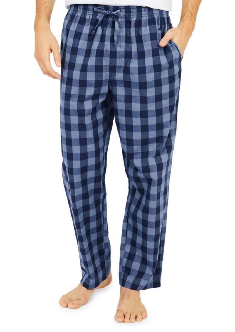 Nautica Buffalo Plaid Cotton Pajama Pants