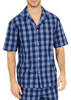 Nautica Buffalo Plaid Cotton Pajama Shirt