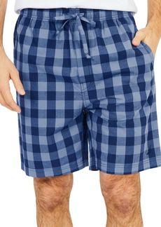 Nautica Buffalo Plaid Cotton Sleep Shorts