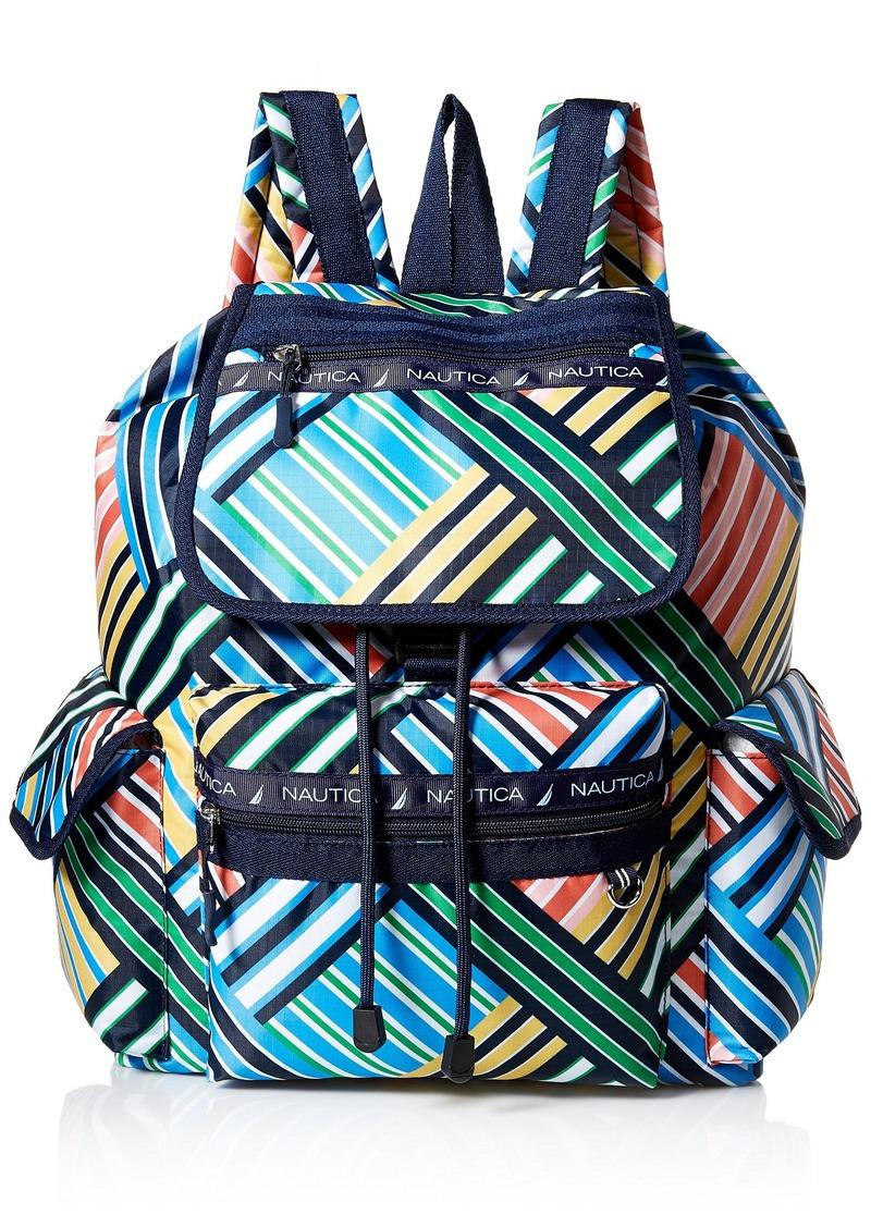 Nautica Captains Quarters Nylon Backpack