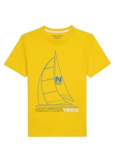 Nautica Chip Graphic T-Shirt