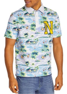 Nautica Classic-Fit Aloha Island Cotton Polo
