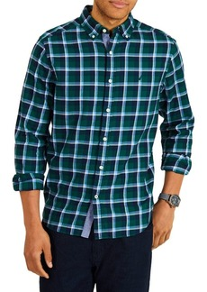 Nautica Classic Fit Casual Plaid Shirt