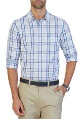 NAUTICA Classic-Fit Delft Plaid Shirt