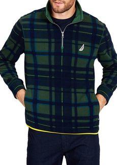 Nautica Classic Fit Half-Zip Printed Pullover