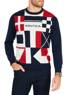 Nautica Classic Fit Long Sleeve Sweater