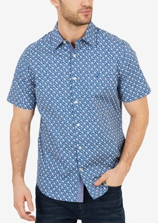 Nautica Classic-Fit Men's Anchor Poplin Shirt