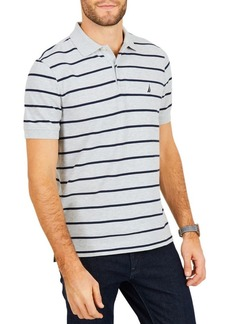 Nautica Classic-Fit Performance Striped Polo Shirt