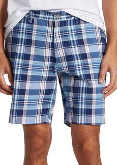 Nautica Classic-Fit Plaid Cotton Shorts