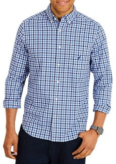 Nautica Classic-Fit Stretch-Cotton Button-Down Shirt