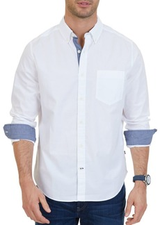 Nautica Classic-Fit Stretch Cotton Shirt