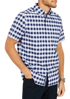Nautica Classic-Fit Stretch Oxford Plaid Shirt