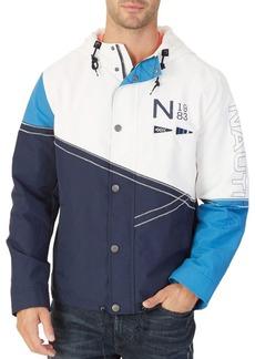 Nautica Colorblock Hooded Jacket