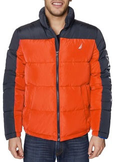 Nautica Colorblock Quilted Jacket