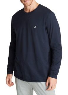 Nautica Cotton-Blend Jersey Long-Sleeve Tee