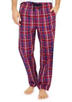 Nautica Cotton Plaid Pajama Pants