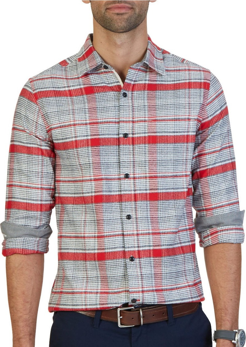 NAUTICA Cotton Plaid Shirt