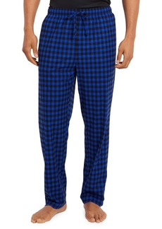 Nautica Cozy Fleece Gingham Pants
