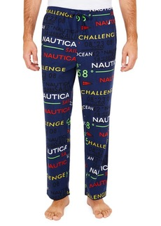 Nautica Cozy Fleece Logo Pants