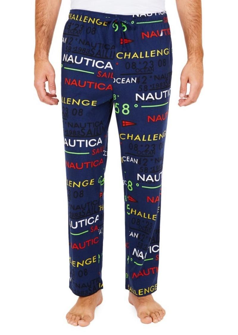 Nautica Cozy Fleece Logo Pants