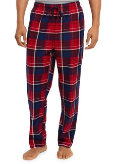 Nautica Cozy Fleece Plaid Pants