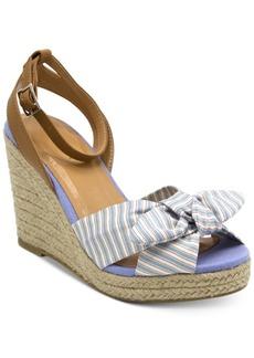 Nautica Curia Platform Espadrille Wedge Sandals Women's Shoes