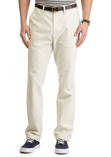 Nautica Flat-Front Cotton Twill Pants