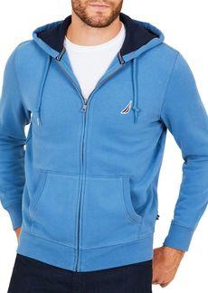 Nautica Fleece Zip-Front Hoodie