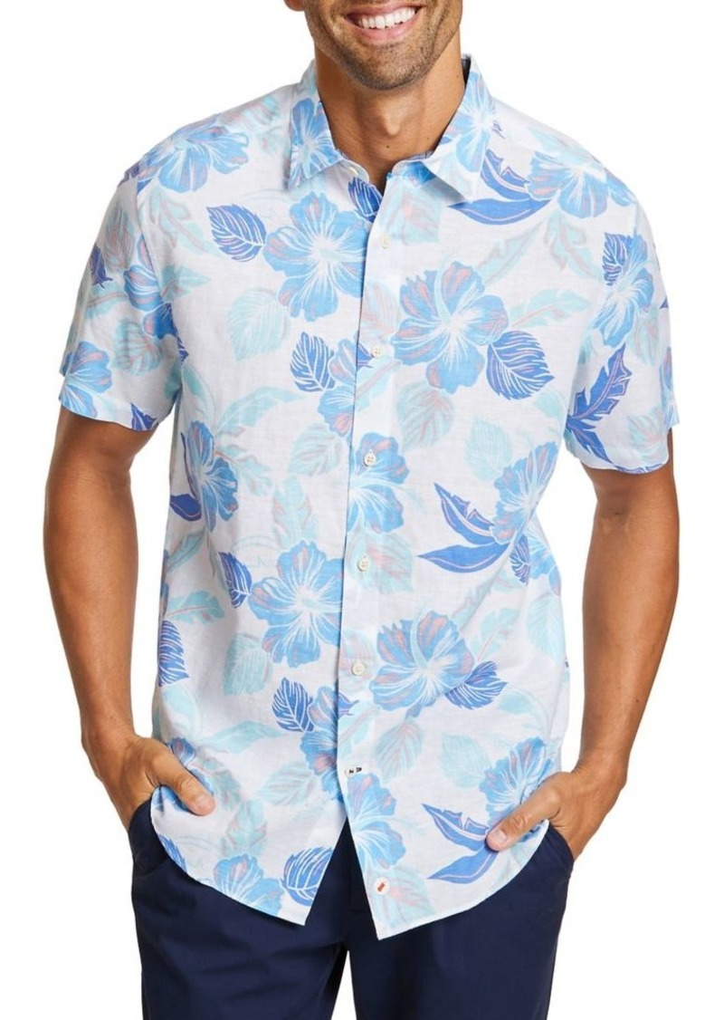 Nautica Floral Shirt