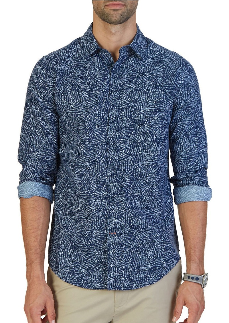 NAUTICA Floral Print Shirt