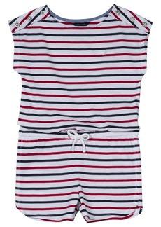 Nautica Girls' Big Fashion Romper  Large (12/14)