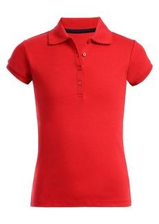 Nautica Girl's Cotton-Blend Polo