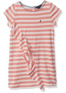 Nautica Girls' Little Short Sleeve Fashion Dress