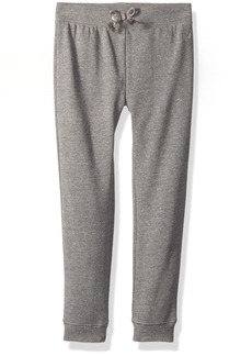 Nautica Girls' Little Super Soft Fleece Pant with Metallic Rope Tie  6X