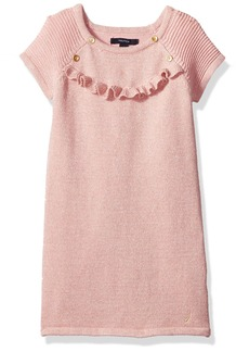 7cd4b9ea51ae Nautica Nautica Baby Colorblock Sweater Dress Cream