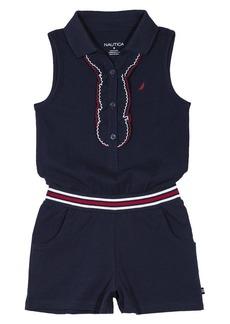 Nautica Girls' Toddler Fashion Romper