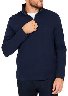 Nautica Half-Zip Cotton Pullover