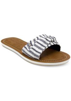 Nautica Hobson Slip-On Flat Sandals Women's Shoes