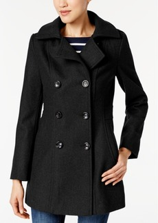 Nautica Hooded Double-Breasted Peacoat