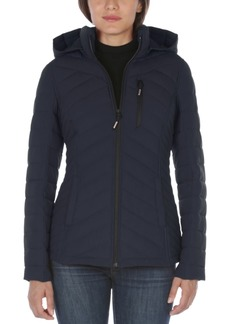 Nautica Hooded Packable Water-Resistant Puffer Coat, Created For Macy's